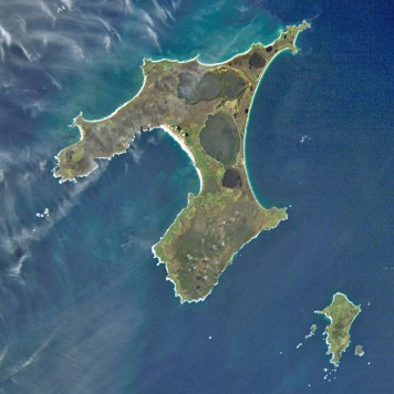 Chatham_Islands_from_space Image courtesy of the Image Science & Analysis Laboratory, NASA Johnson Space Center
