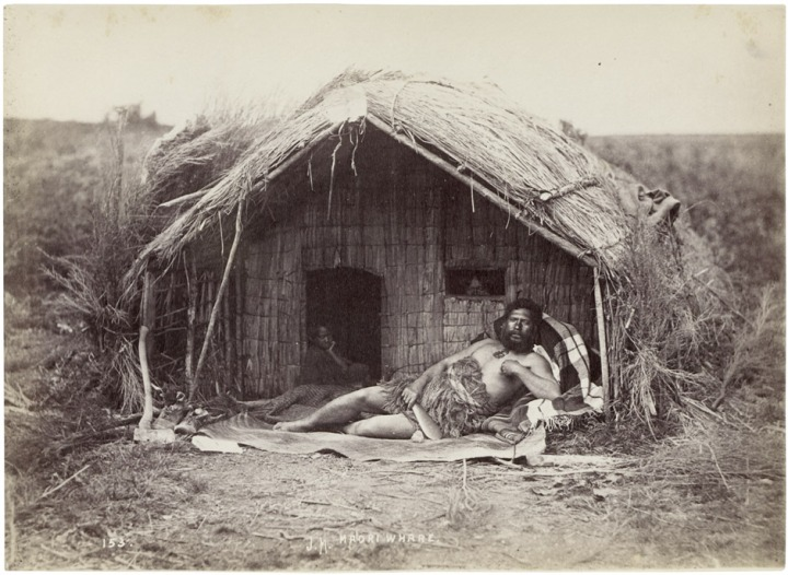 Maori_Chief_Tahau_in_whare_mid1870s