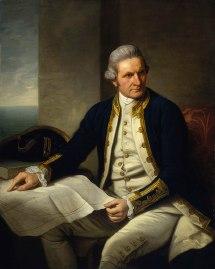 Captain James Cook Portrait